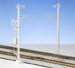Kato 5-052  Single Track Catenary Poles (12)